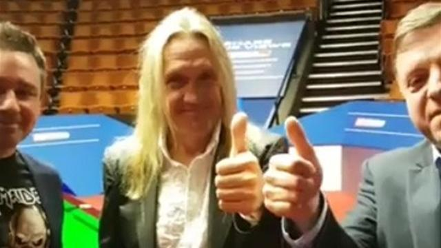Re-watch: Iron Maiden drummer Nicko McBrain joins us at the Crucible