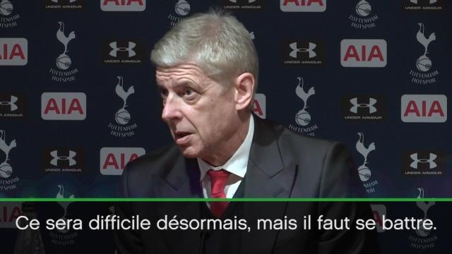 Cette fois, Wenger l'admet : «Le Top 4, ce sera difficile»