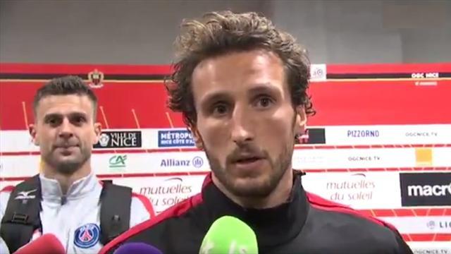 Nice-PSG a continué pour Thiago Motta et Paul Baysse en zone mixte…