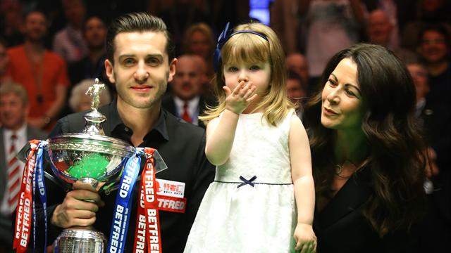 Selby clinches third World Championship title after stunning comeback against Higgins