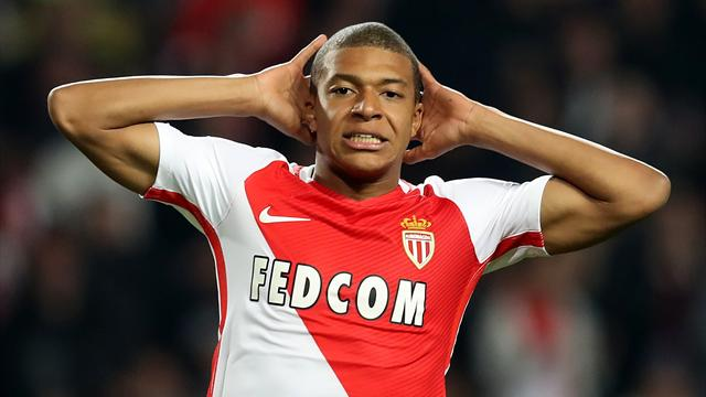 Monaco would 'refuse an offer of €100m' from Real Madrid for Mbappe
