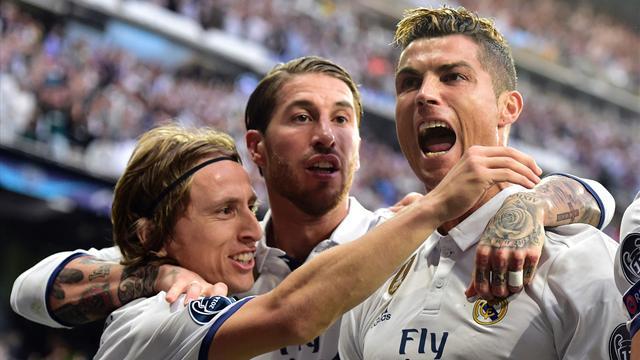 Tête, puissance et précision : le triplé d'un Ronaldo monstrueux en vidéo