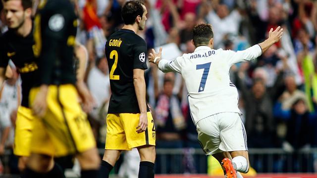 Ronaldo a mis l'Atlético KO