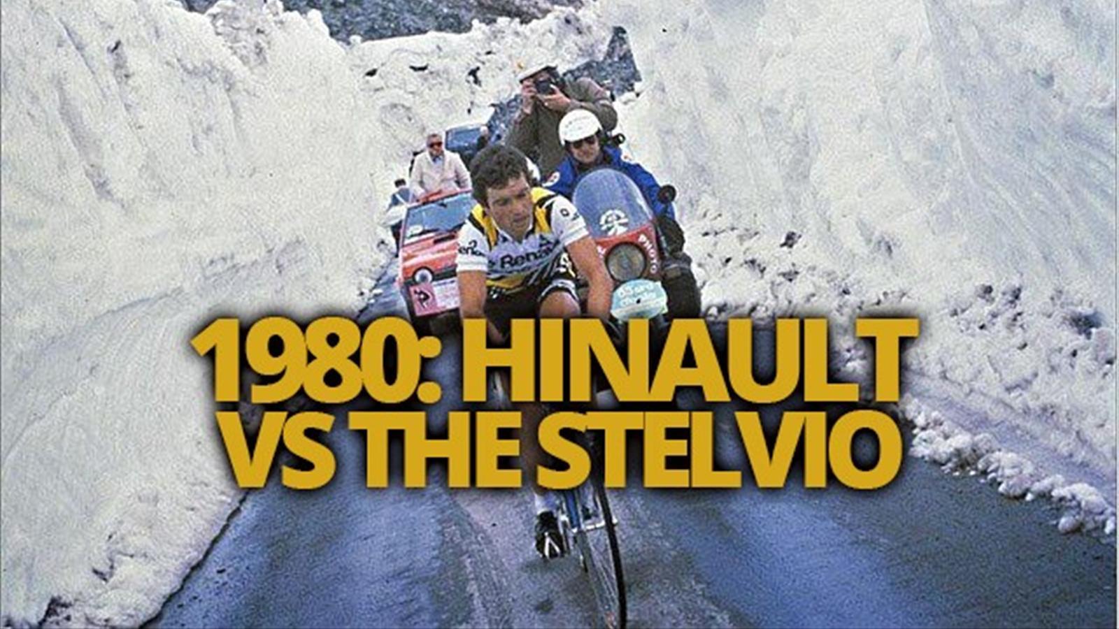 VIDEO - Hinault v the Stelvio: An epic assault in 1980 - Giro d'Italia - Video Eurosport