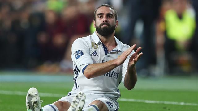 Tegola Real Madrid, si ferma anche Carvajal: stop per un'infezione virale al pericardio
