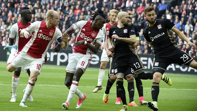 Europa League (1/2 finale aller) : Lyon sévèrement battu à Amsterdam