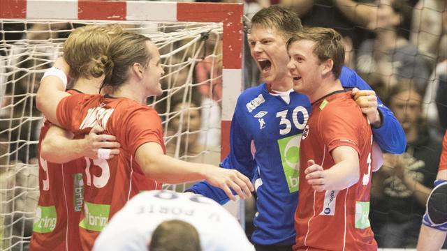 Super-Sander hylles av lagkameratene: – Jeg ser ingen begrensninger. Han kan bli verdens beste