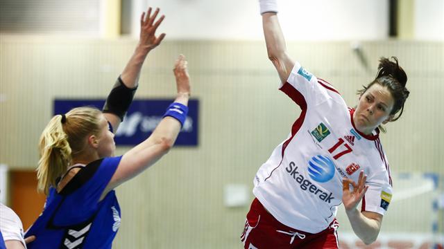 Larvik mot Vipers i sluttspillfinalen
