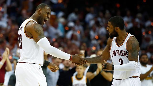 Irving poussé dehors ? LeBron met les choses au point avec les médias américains