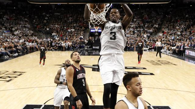 NBA Play-offs: Spurs level series, Cavs take charge
