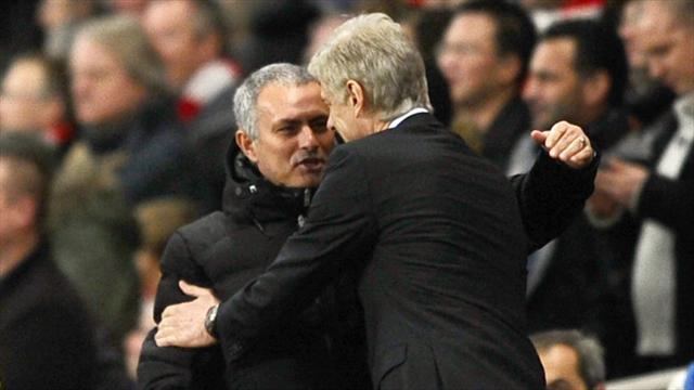 Arsene Wenger he and Jose Mourinho have mellowed and have respect for each other