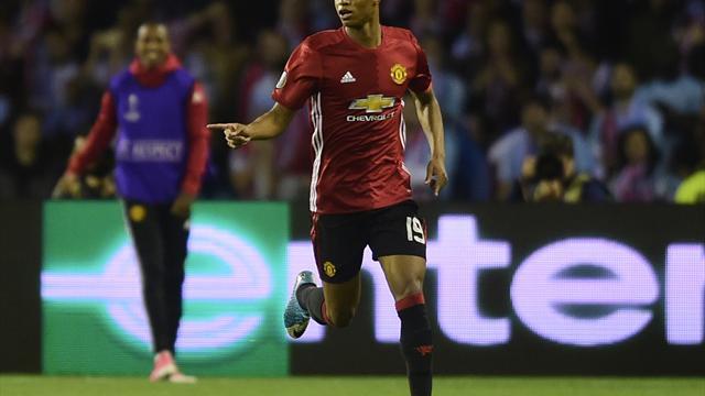Rashford, Pogba and Fellaini start for United against Celta