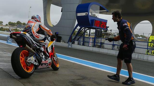 Dani Pedrosa logró la pole position en Jerez — MotoGP