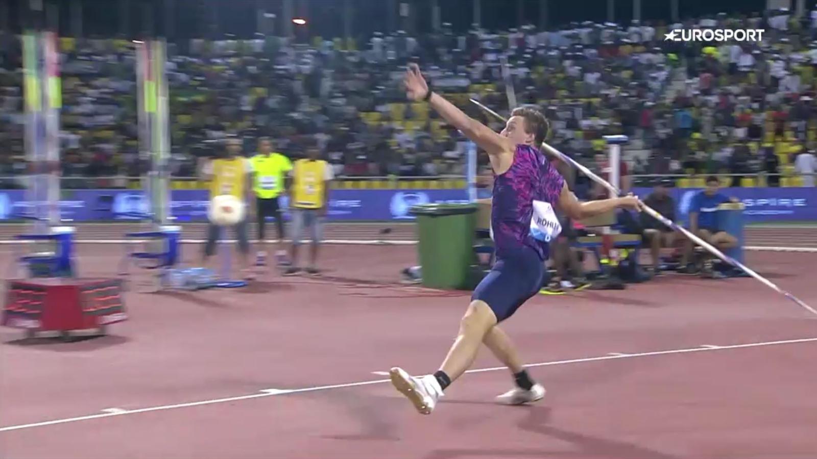 Speerwerfen Weltrekord