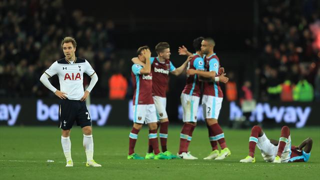 Piégé par West Ham, Tottenham a perdu une grosse partie de ses illusions