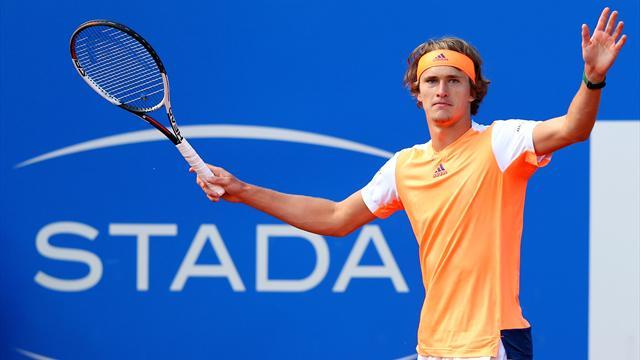 Alexander Zverev remporte à Munich son 3e tournoi ATP — Tennis