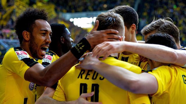 Grâce à Reus et Aubameyang, Dortmund remporte sa finale contre Hoffenheim