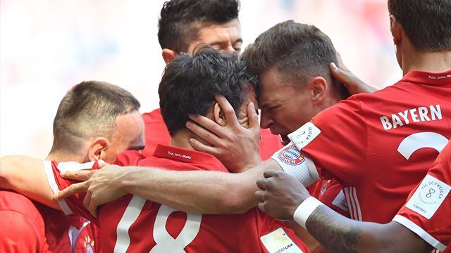 Bernat segna e Starke para: il Bayern batte 1-0 il Darmstadt e lo condanna alla retrocessione