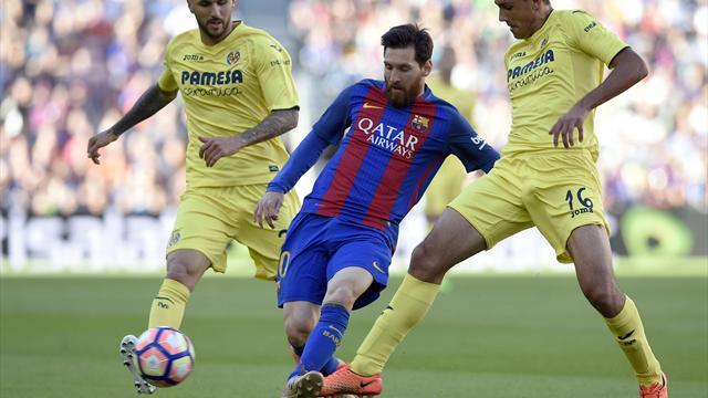 d nde televisan el barcelona hoy contra el villarreal