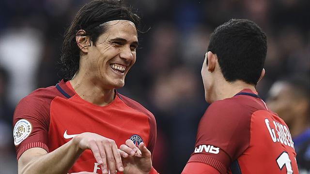 PSG striker Cavani could make Napoli return