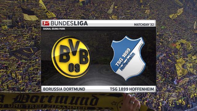 Høydepunkter: Dortmund - Hoffenheim