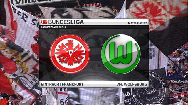 Høydepunkter: Frankfurt - Wolfsburg