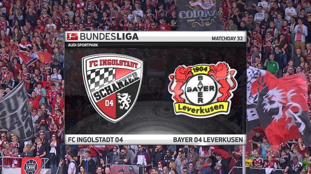 Høydepunkter: Ingolstadt - Leverkusen