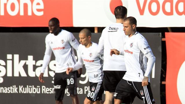 Beşiktaş'ta Kasımpaşa maçı hazırlıkları sürüyor
