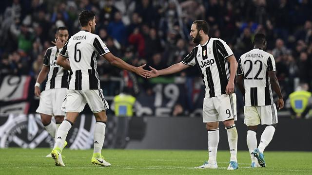 Higuain's stoppage time strike foils 10-man Torino