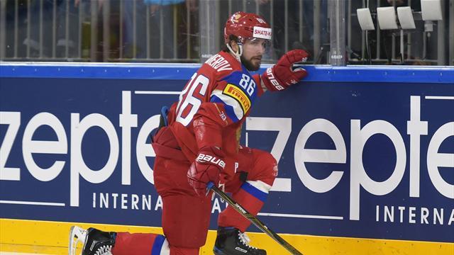 Россия с Малкиным и Кучеровым пропустила 6 шайб и проиграла Швеции