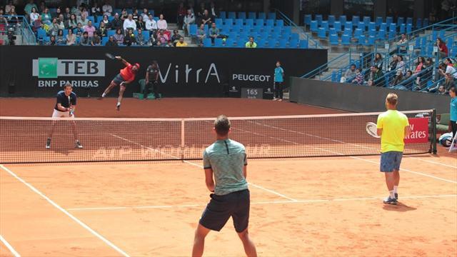 Tuna Altuna ve İtalyan partnerine İstanbul Open finalinde ağır mağlubiyet