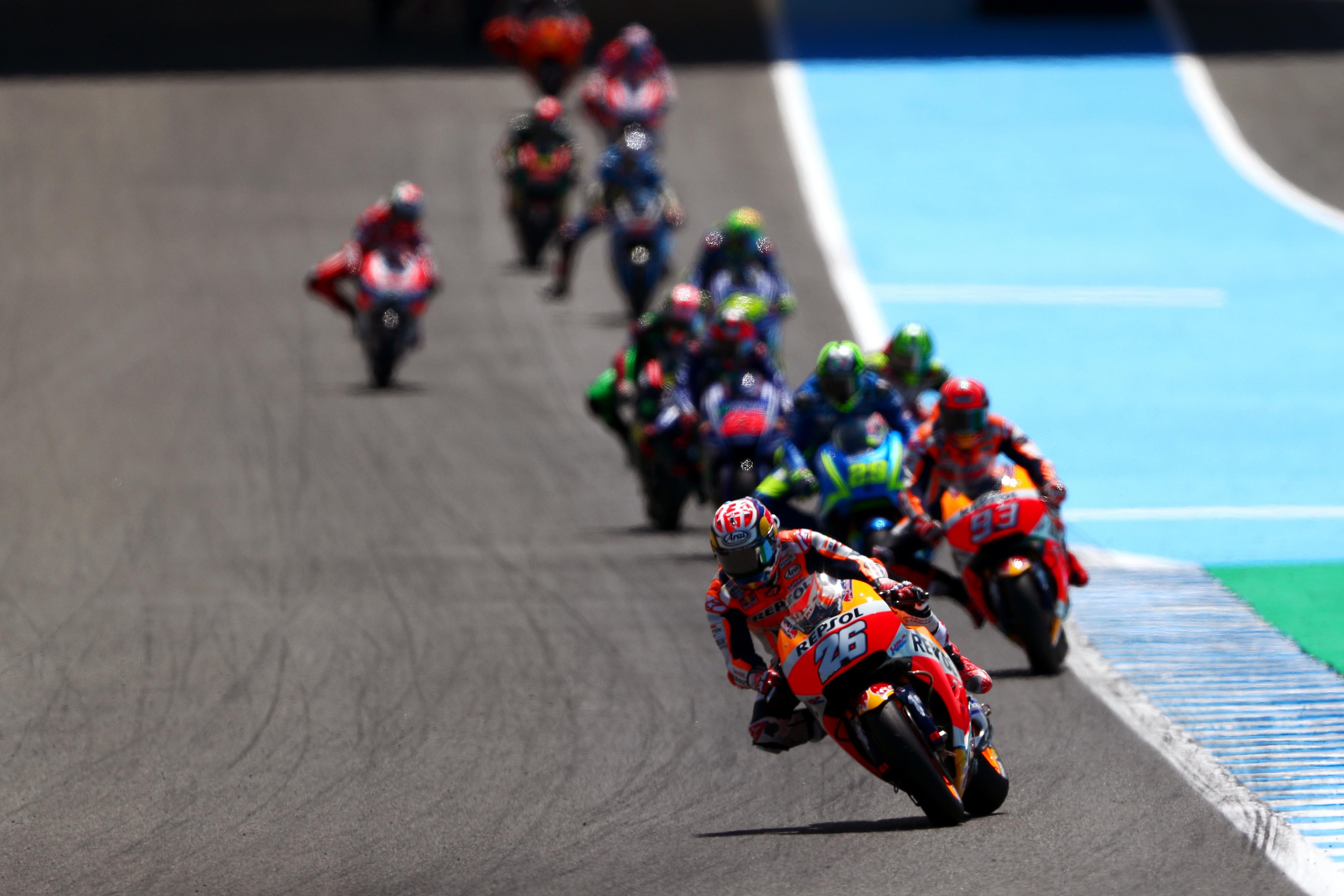 Dani Pedrosa (Honda HRC) au Grand Prix d'Espagne 2017
