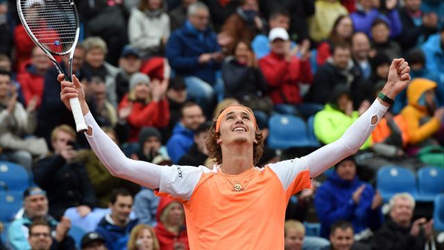 A tout juste 20 ans, Zverev s'adjuge son troisième titre