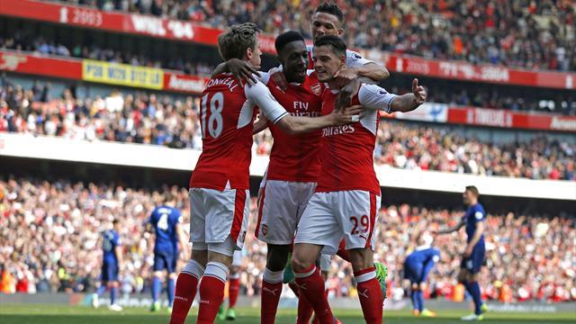 El Manchester United de Mourinho cae ante el Arsenal y se aleja de la Champions (2-0)