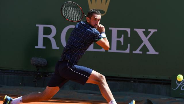 İstanbul'da tenis heyecanı erkekler turnuvasıyla sürüyor