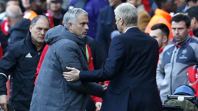 Mourinho : «Vous pensez que je prends du plaisir parce qu'Arsenal ne remporte aucun titre majeur ?»