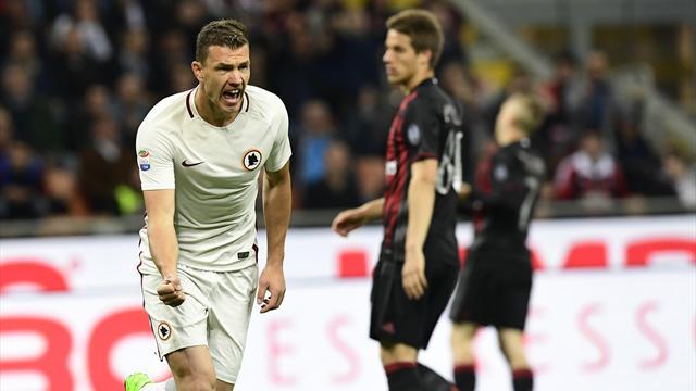 Roma retake second place, Inter lose again