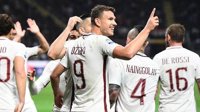 L'AS Rome écrase l'AC Milan et repasse devant Naples