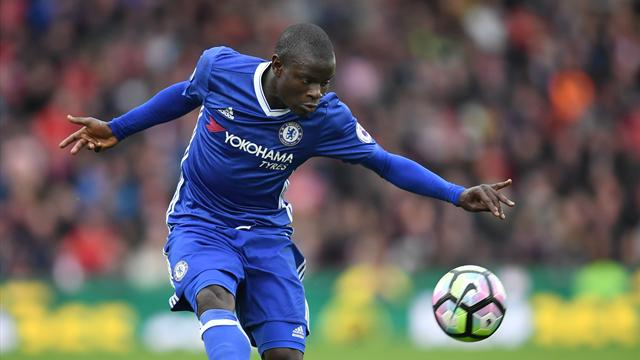 Kante claims award double as Chelsea star named Footballer of the Year