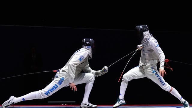 Italy's Daniele Garozzo wins FIE individual foil gold, France team winners in St. Petersburg