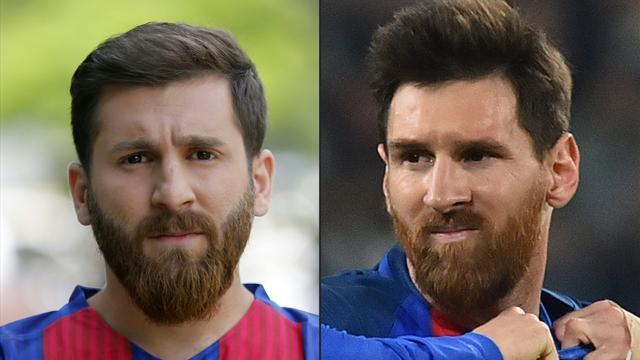 La dura vita del sosia iraniano di Leo Messi