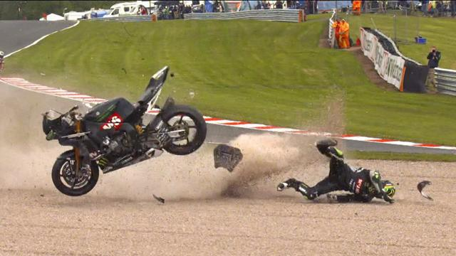 Watts: Rally crash on cliff edge, close call for cameraman after BSB smash