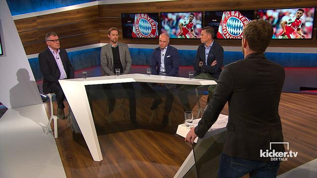 kickerTV - Der Talk: Die komplette Sendung mit Rummenigge, Hildebrand und Meijer