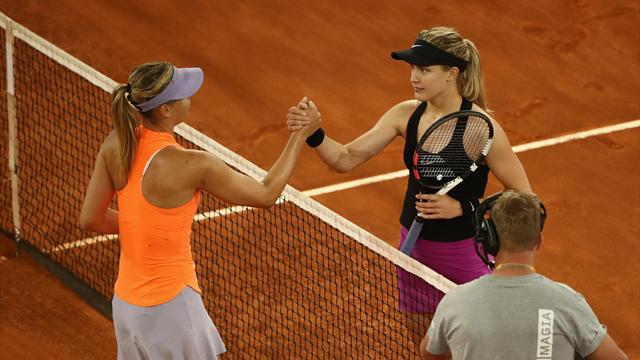 Bouchard reveals inspiration behind grudge-match victory over Sharapova