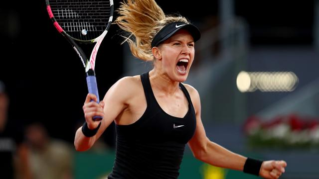 Bouchard se paie (encore) Sharapova