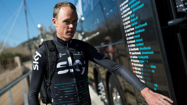 Chris Froome 'rammed on purpose' by motorist on training ride