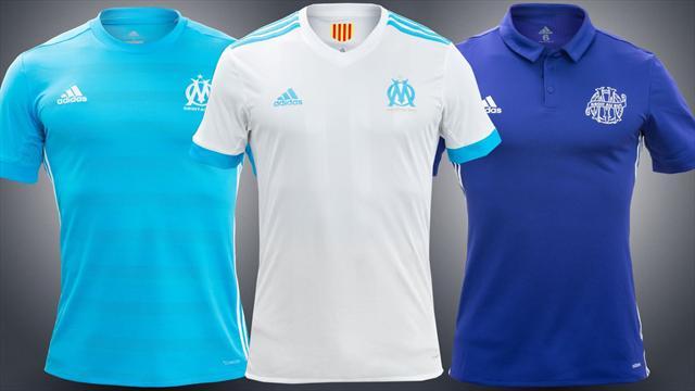 L'OM et Adidas dévoilent les 3 maillots 2017-2018 des Marseillais [OFFICIEL]