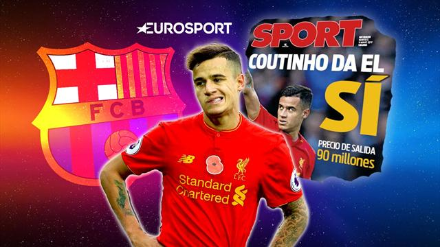 Euro Papers: Coutinho says 'YES' to Barcelona