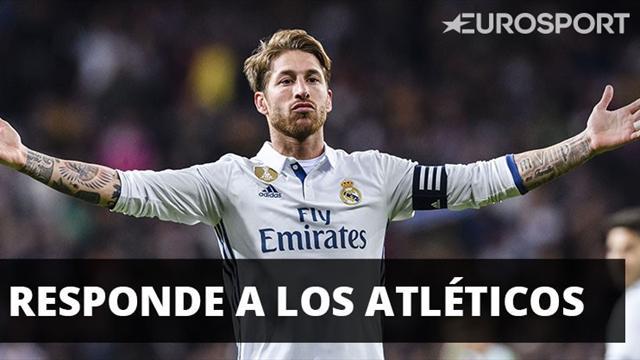 Sergio Ramos responde con ironía a los atléticos