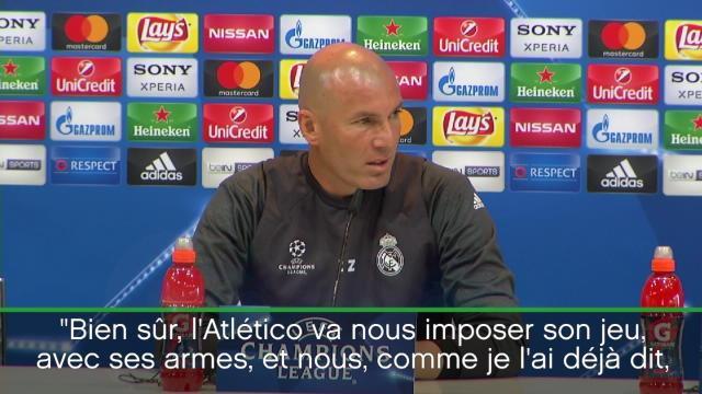 Zidane : «On ne va rien changer à notre style de jeu»